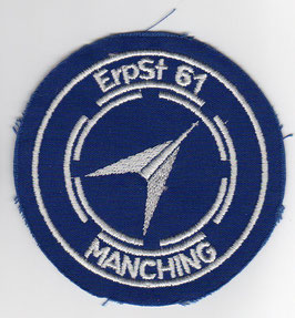 German Air Force patch Erpobungsstelle 61 / Test Center 61  F-104G, F-4F, RF-4E   ~1980