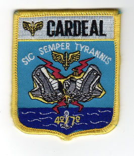 Brazilian Air Force patch 4°/7° GAV ´Cardeal´ EMB-312   - disbanded -