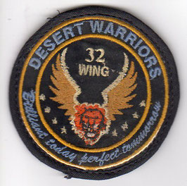 Indian Air Force patch 32nd Wing ´Desert Warriors´