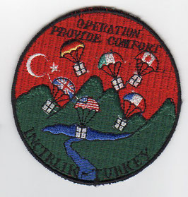 NATO patch Operation Provide Comfort - Incirlik / Turkey   1991-1996