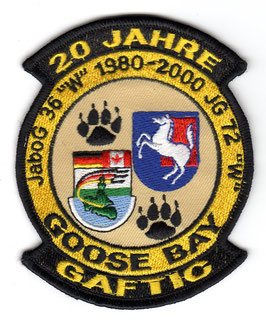 German Air Force patch JaBoG 36 / JG 72 20 years of GAFTIC F-4F Phantom II