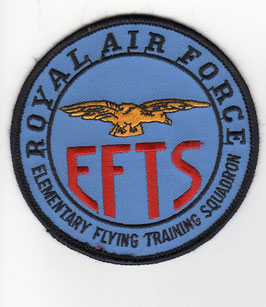 Royal Air Force patch EFTS (Elementary Flying Training Squadron)