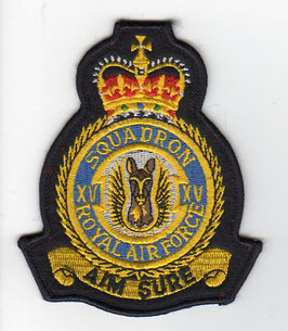 Royal Air Force crest patch No.15(R) Squadron Tornado GR.1A period   - disbanded -