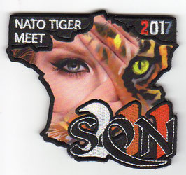 Czech Air Force patch 211 Tactical Squadron NATO Tiger Meet NTM 2017