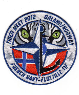 French Navy patch 11 Flotille NATO Tiger Meet NTM 2012