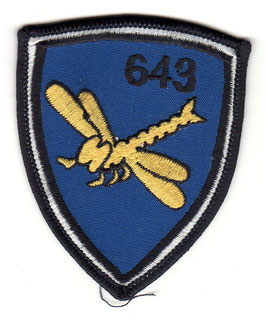 German Air Force patch HTG 64 / 643 Staffel UH-1D