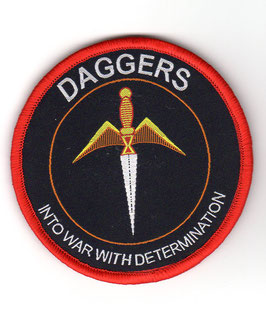 Indian Air Force No.10 Squadron ´Daggers´ Ops patch version 2