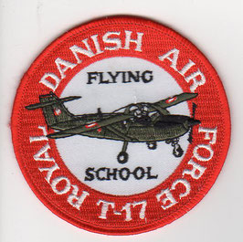 Royal Danish Air Force patch Flying School T-17