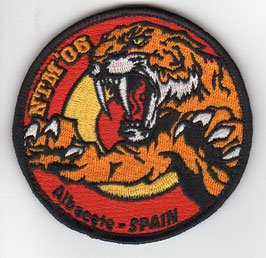 Spanish Air Force patch ALA 14 NATO Tiger Meet 2006 Albacete Mirage F.1