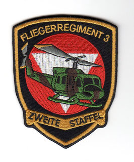 Austrian Air Force patch 2. Staffel Fliegerregiment 3 AB.212   - disbanded -