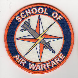 Royal Australian Air Force patch School of Air Warfare
