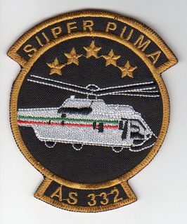 Mexican Air Force patch AS 332 Super Puma