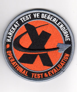 Turkish Air Force patch 401 Test Filo - Operational Test & Evaluation (old version)