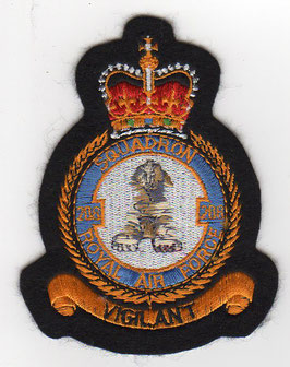 Royal Air Force crest patch No.208(R) Squadron Hawk T.1   - disbanded -