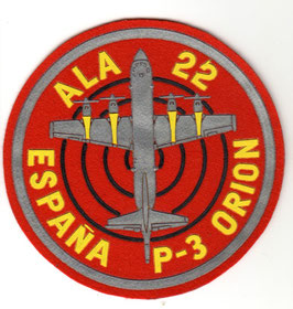 Spanish Air Force patch ALA 22 P-3 Orion RARE!!