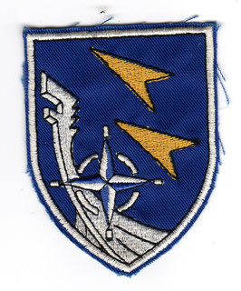 German Air Force patch LeKG 43 Fiat G.91 Gina