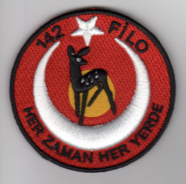 Turkish Air Force patch 142 Filo ´Ceylan` F-16C/D Akinci disbanded last version