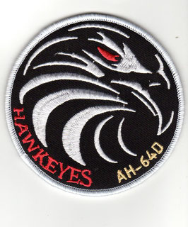 """Royal Netherlands Air Force patch 301 Squadron """"Hawkexes Flight"""" AH-64D Apache"""