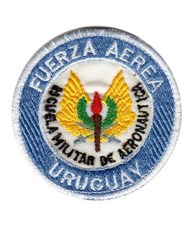 Uruguay Air Force patch Escuela Militar de Aeronautica   - vintage -