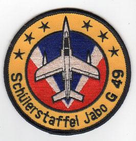 German Air Force patch JaBoG 49 / Schülerstaffel Alpha Jet   1980s   - disbanded 1990 -