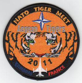 Greek Hellenic Air Force patch 335 Squadron NATO Tiger Meet 2011