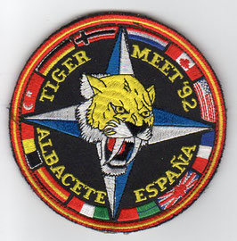 Spanish Air Force patch ALA 14 NATO Tiger Meet 1992 Albacete Mirage F.1