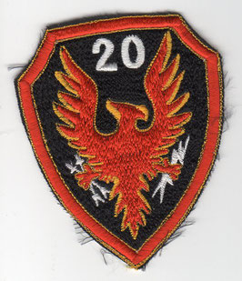 Philippine Air Force patch 20th Attack Squadron