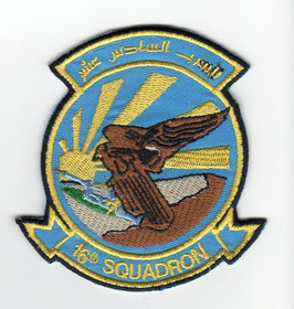 United Arab Emirates Air Force patch 16 Squadron F-16E/F disbanded
