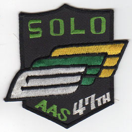 South Korean Army Aviation School class patch 47th Solo