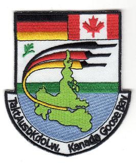 German Air Force Patch TaktAusbKdoLw Kanada Goose Bay   -disbanded 2005 -