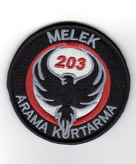 Turkish Air Force patch 203 Filo ´Melek´   - DISBANDED -