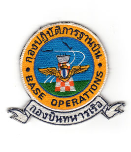 Royal Thai Air Force patch ´Base Operations´