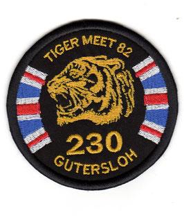 Royal Air Force patch No.230 Squadron NTM 1982 RAF Gütersloh