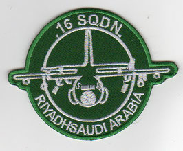 Royal Saudi Air Force patch 16 Squadron Riyadh C-130 Hercules