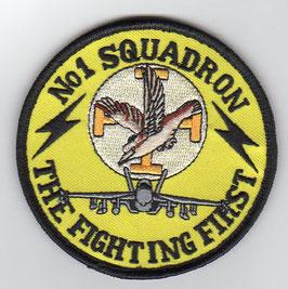 Royal Australian Air Force patch No.1 Squadron F-18F Super Hornet