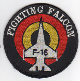 Belgian Air Force patch F-16 Fighting Falcon roundel older