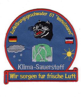 German Air Force patch AG 51 ´Immelmann´ Klima-Sauerstoff