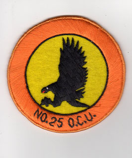 Pakistan Air Force patch No.25 OCU Operational Conversion Unit F-7P (MiG-21)   - disbanded -
