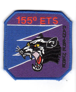Italian Air Force patch 155° Gruppo ETS ´Pantere Nere ´ Tornado ECR