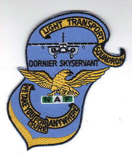 Nigerian Air Force Light Transport Squadron patch Do.28 Skyservant   - disbanded -