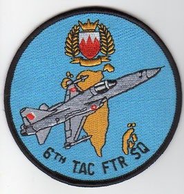 Royal Bahraini Air Force patch 6th Tactical Fighter Squadron F-5E/F Tiger II
