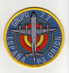 Spanish Air Force patch ALA 22 P-3 Orion