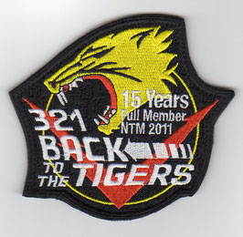 German Air Force patch JaBoG 32 NATO Tiger Meet 2011 Tornado ECR