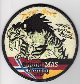 German Air Force patch AG 51 NATO Tiger Meet 2012 Tornado IDS