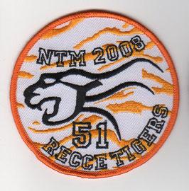 German Air Force patch AG 51 NATO Tiger Meet 2008 Tornado IDS