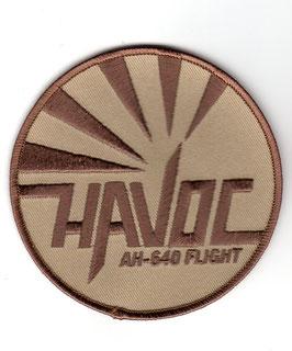 """Royal Netherlands Air Force patch 301 Squadron """"Havoc Flight"""" AH-64D Apache"""