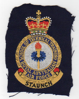 Royal Australian Air Force vintage crest patch School of Technical Training