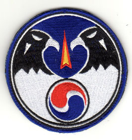 South Korean Air Force patch 203rd Flight Training Squadron T-50 Golden Eagle