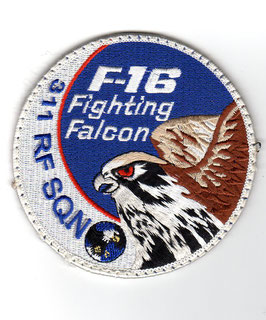 Royal Netherlands Air Force F-16 swirl patch 311 RF Squadron