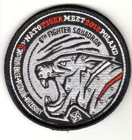 Polish Air Force patch NATO Tiger Meet 2018 Poznan